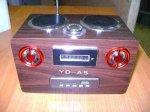 Универсальные колонки - встроенный MP3 плеер, радио, картридер