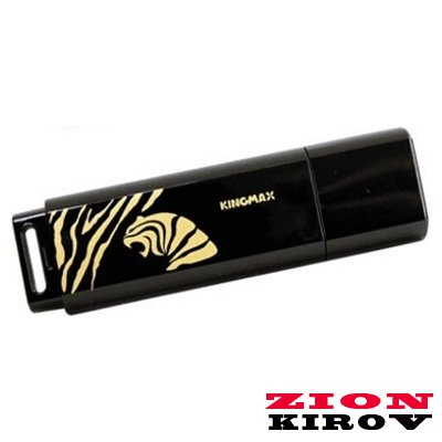 USB flash 4Gb Kingmax Tiger Black